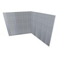 tackerplaat akoestitack 20-2 mm 10 m2